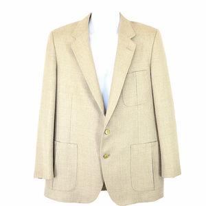 Lanvin Khaki Sports Coat Size 44 46